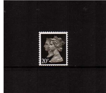 view larger image for SG 1478 (17 April 1990) - 20p Brownish Black  - Questa - Lithography<br/>Perforation 15x14 - Phosphorised Paper