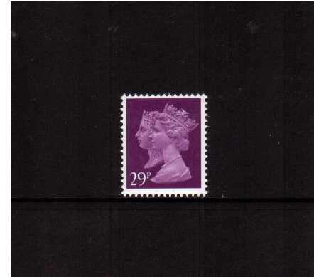view larger image for SG 1472 (20 Mar 1990) - 29p Deep Mauve - Harrison - Photogravure<br/>Perforation 15x14 -  2 Bands