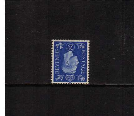 view larger image for SG 466Wi (1937) - 2�d Ultramarine with WATERMARK INVERTED