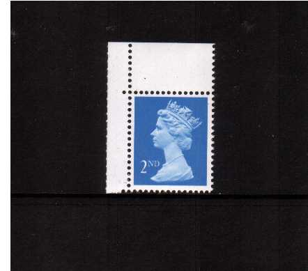 view larger image for SG 1446 (20 Mar 1989) - 2nd Class - Bright Blue - Harrison - Photogravure<br/>Perforation 15x14 - Right  Band