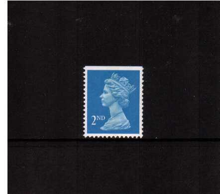 view larger image for SG 1449 (22 Aug 1989) - 2nd Class - Bright Blue - Walsall - Litho<br/>Perforation 14 - Centre Band<br/>Imperforate at Top