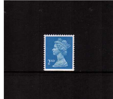 view larger image for SG 1449v (22 Aug 1989) - 2nd Class - Bright Blue - Walsall - Litho<br/>Perforation 14 - Centre Band<br/>Imperforate at Bottom