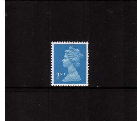 view larger image for SG 1451 (19 Sept 1989) - 2nd Class - Bright Blue - Questa - Litho<br/>Perforation  15x14 - Centre Band