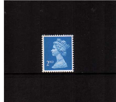 view larger image for SG 1451aEb (22 Aug 1989) - 2nd Class - Bright Blue - Questa - Litho<br/>Perforation 15x14 - Left Band
