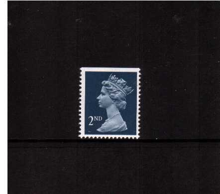 view larger image for SG 1511 (7 Aug 1990) - 2nd Class - Deep Blue - Harrison - Photogravure<br/>Perforation 15x14 - Centre Band<br/>Imperforate at Top