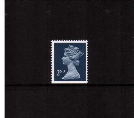 view larger image for SG 1511v (7 Aug 1990) - 2nd Class - Deep Blue - Harrison - Photogravure<br/>Perforation 15x14 - Centre Band<br/>Imperforate at Bottom