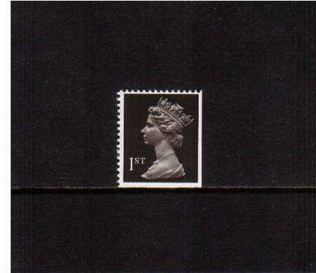 view larger image for SG 1447vvvv (28 Nov 1990) - 1st Class - Brownish Black - Harrison - Photogravure<br/>Perforation 15x14 - Centre Band<br/>Imperforate at Bottom & Right