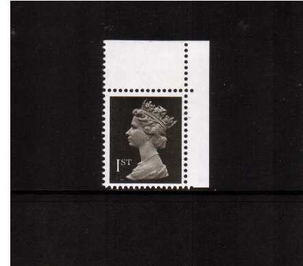 view larger image for SG 1448 (20 Mar 1990) - 1st Class - Brownish Black - Harrison - Photogravure<br/>Perforation 15x14 - 2 Bands
