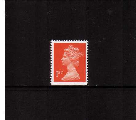 view larger image for SG 1512v (7 Aug 1990) - 1st Class - Orange-Red - Harrison - Photogravure<br/>Perforation 15x14 - Phosphorised paper<br/>Imperforate at Bottom