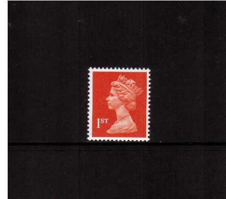 view larger image for SG 1514 (7 Aug 90) - 1st Class - Orange Red - Questa - Litho<br/>Perforation 15x14 - Phosphorised paper