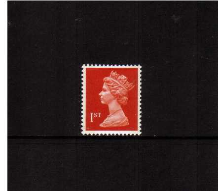 view larger image for SG 1514a (25 Feb 1992) - 1st Class - Orange Red - Questa - Litho<br/>Perforation 15x14 - 2 Bands