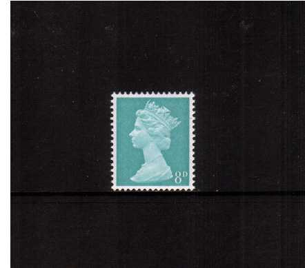 view larger image for SG 739 (6 Jan 1969) - 8d Light Turquoise-Blue - 2 Bands