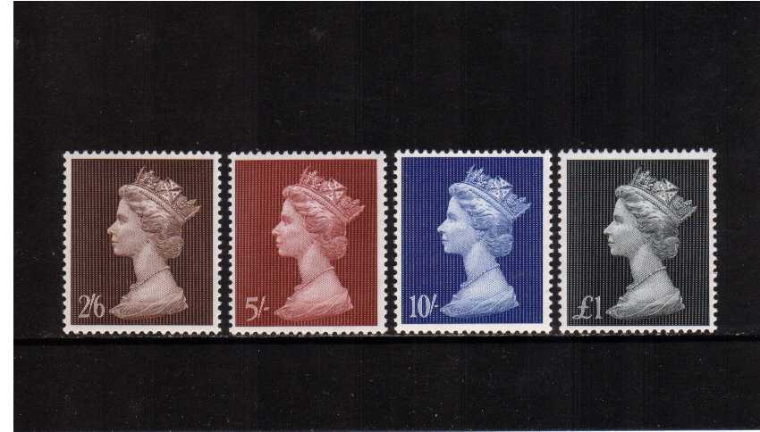 view larger image for SG 787-790 (1969) - Elizabeth II <br/>