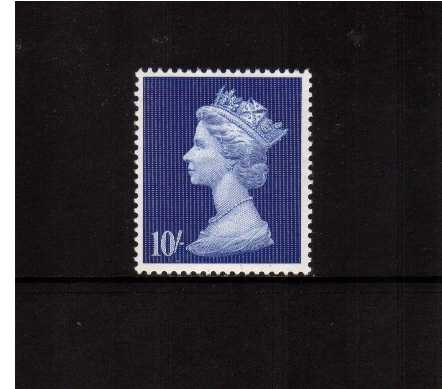 view larger image for SG 789 (1969) - 10/- Deep Ultramarine
