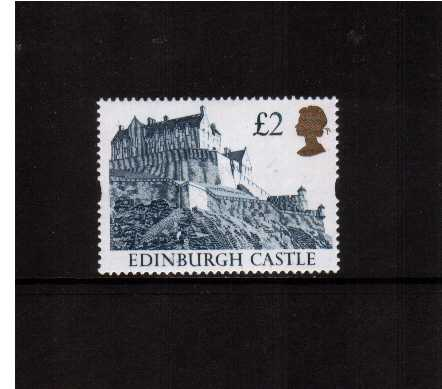 view larger image for SG 1613 (24 Mar 1992) - �2 Indigo & Gold 'Gold Head' Castle - Printed by Harrison