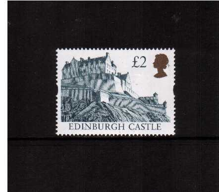 view larger image for SG 1994 (29 July 1997) - �2 Indigo & Gold 'Gold Head' Castle - Printed by Ensched�