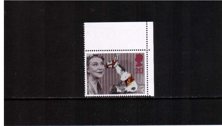 view larger image for SG 1940a (1997) - 20p 'Muffin the Mule'<br/>Perforation 15x14 ex booklet