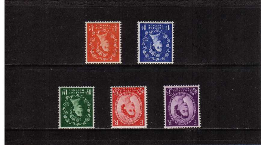 view larger image for SG 587Wi-592Wi (1959) - Elizabeth II <br/>