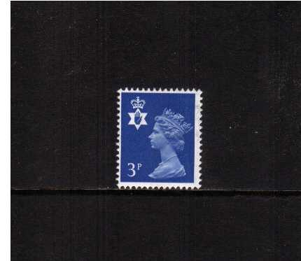 view larger image for SG NI14 (1974) - 3p Ultramarine - Centre Bands