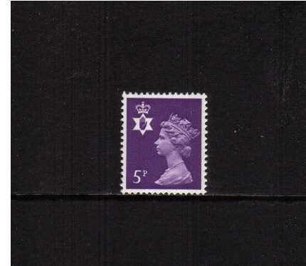 view larger image for SG NI18 (1971) - 5p Reddish Violet