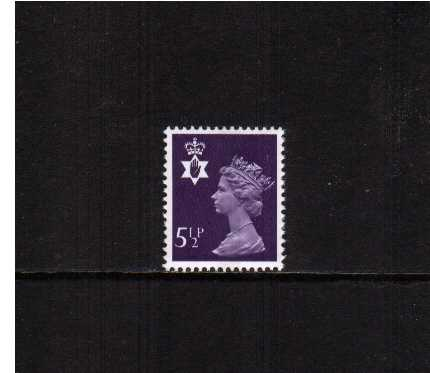 view larger image for SG NI20 (1975) - 5�p Violet - Centre Band