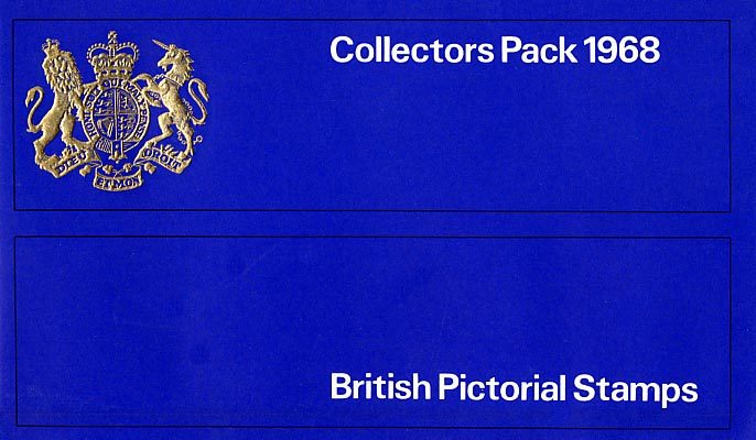 view larger image for SG CP774e (1968) - Collectors Pack in Blue<br/>SG Cat �7.00