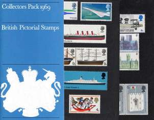 view larger image for SG CP807b (1969) - Collectors Year Pack<br/>SG Cat �25