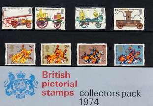 view larger image for SG CP969a (1974) - Collectors Year Pack<br/>SG Cat �16