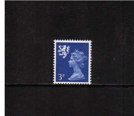 view larger image for SG S15Eg (1972) - 3p Ultramarine - 2 Bands - Gum Arabic