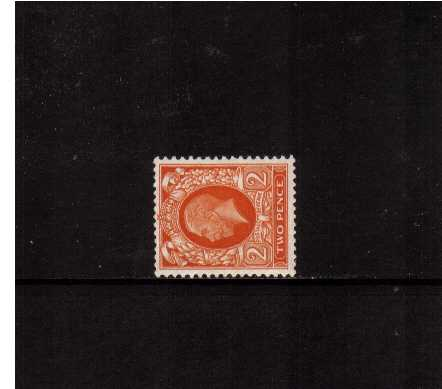 view larger image for SG 442b (1935) - 2d Orange with WATERMARK SIDEWAYS