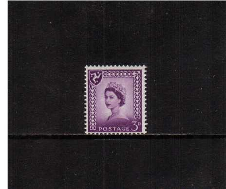 view larger image for SG IoM2p (1968) - 3d Deep Lilac - Centre Band