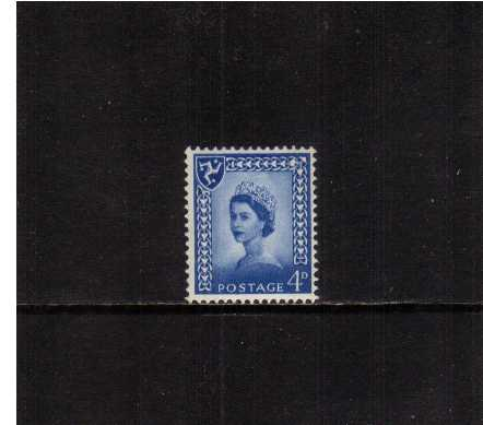 view larger image for SG IoM3p (1967) - 4d Ultramarine - 2 Bands