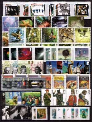 view larger image for Commemorative Year Sets -  (2007) - <br/>14 Sets - 89 stamps
