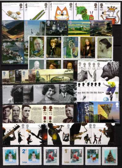 view larger image for Commemorative Year Sets -  (2006) - <br/>11 Sets - 76 stamps