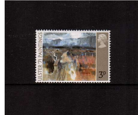 view larger image for SG 881 (1971) - 3p 'Ulster 1971' Paintings<br/> commemorative odd value
