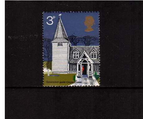 view larger image for SG 904 (1972) - 3p British Churches <br/>commemorative odd value