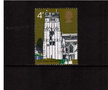 view larger image for SG 905 (1972) - 4p British Churches - <br/>commemorative odd value