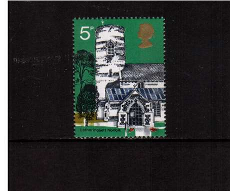 view larger image for SG 906 (1972) - 5p British Churches - <br/>commemorative odd value