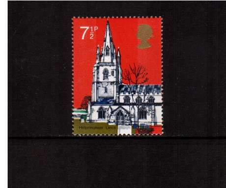 view larger image for SG 907 (1972) - 7�p British Churches - <br/>commemorative odd value