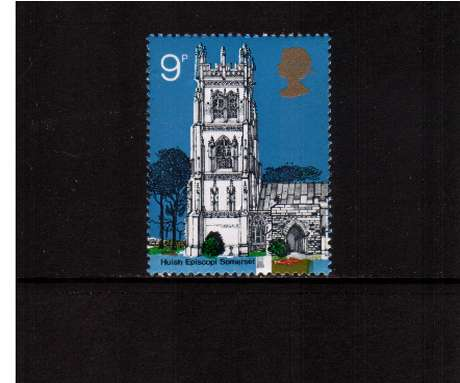 view larger image for SG 908 (1972) - 9p British Churches - <br/>commemorative odd value
