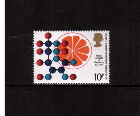 view larger image for SG 1030 (1977) - 10p Chemistry  -   Vitamin C   -<br/>commemorative odd value