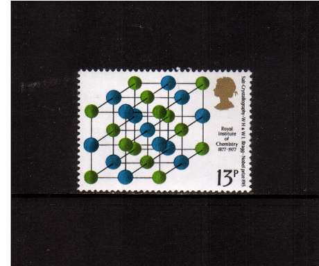 view larger image for SG 1032 (1977) - 13p Chemistry  -   Salt  -<br/>commemorative odd value