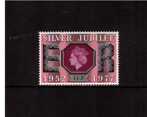 view larger image for SG 1036 (1977) - 11p Silver Jubilee -<br/>