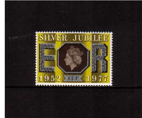 view larger image for SG 1037 (1977) - 13p Silver Jubilee -<br/>
