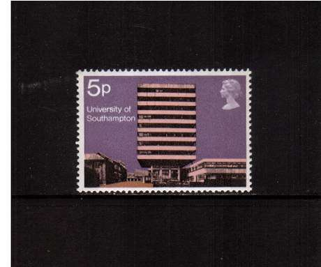 view larger image for SG 891 (1971) - 5p University Buildings  - Southampton<br/>commemorative odd value