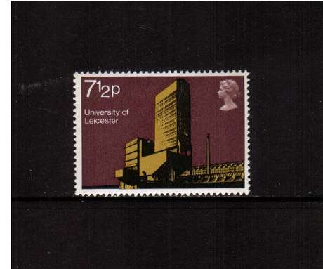 view larger image for SG 892 (1971) - 7�p University Buildings  - Leicester<br/>commemorative odd value
