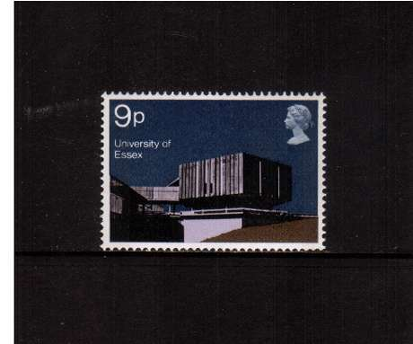 view larger image for SG 893 (1971) - 9p University Buildings  - Essex<br/>commemorative odd value