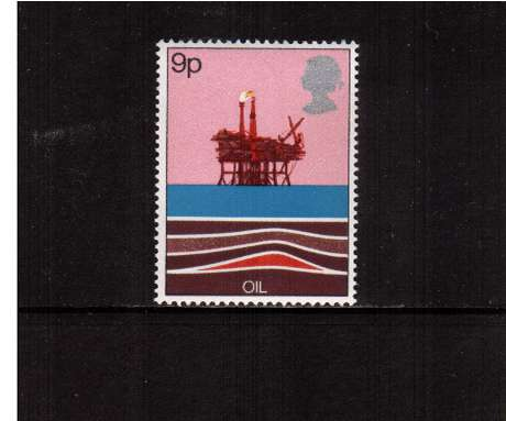 view larger image for SG 1050 (1978) - 9p - Energy Resources - Oil <br/>commemorative odd value