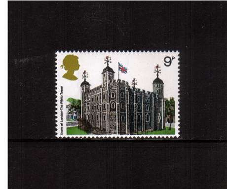 view larger image for SG 1054 (1978) - 9p - Architecture - Historic Buildings  - Tower of London<br/>commemorative odd value