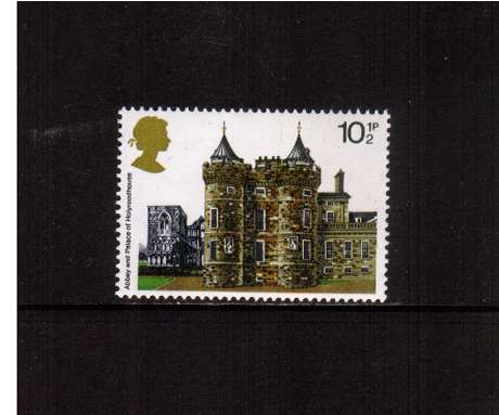 view larger image for SG 1055 (1978) - 10�p - Architecture - Historic Buildings  - Holyroodhouse<br/>commemorative odd value